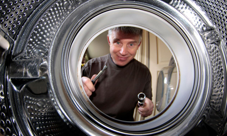 Save money and the environment by learning how to mend your washing machine