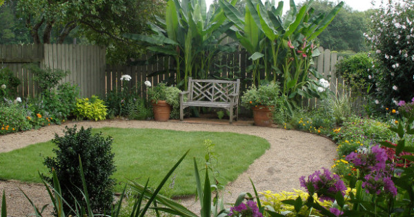 Landscaping: the garden as a canvas